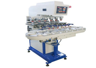 چین Promotional Gifts Tampo Pad Printing Machine Six Color Conveyor Belt Printer تامین کننده