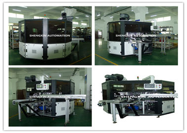 چین PLC System Automatic Screen Printing Machine / Screen Printing On Bottles تامین کننده