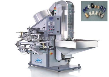 چین Cap Hot Foil Stamping Machine , Plastic / Metal Stamper Machine کارخانه