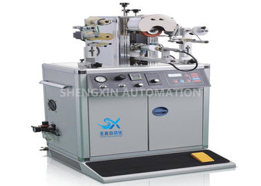 چین 700W Plastic Cap Hot Foil Stamping Machine with PLC Controlled کارخانه